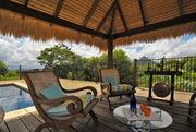 Under the Bali Hut
