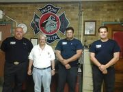 visita a los bomberos de Mc Allen Texas