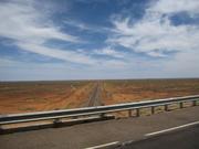 """The Ghan"" railway tracks (somewhere between Darwin and Adelaide)"