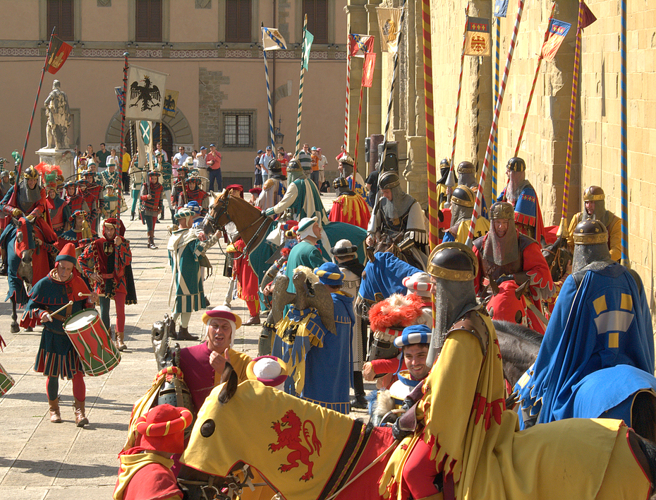 Joust Festival ~ Arrezo, Italy