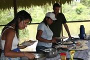 ILunch at Chullachaqui Lodge
