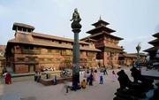 Ancient Darbar Square in Patan