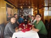 welcome drinks in Alova Cruise