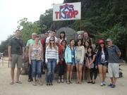 take a group photo in Titop Island