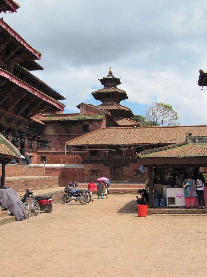 Patan Durbar Square areas.