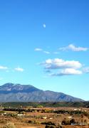 Moonrise over Arroyo Hondo
