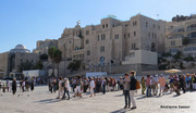 Outside the Kotel