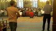 At Prayer, New Mosque (HCR)