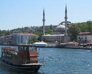 Mosque on Bosporus Shore, Istanbul (PIR)