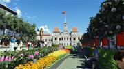 Nguyen Hue Flower Street becomes walking zone in 2015