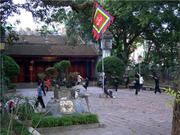 Inside Quan Thanh Temple