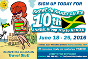 10th Annual June Group Trip to Hedonism resort in Jamaica-open to all adults