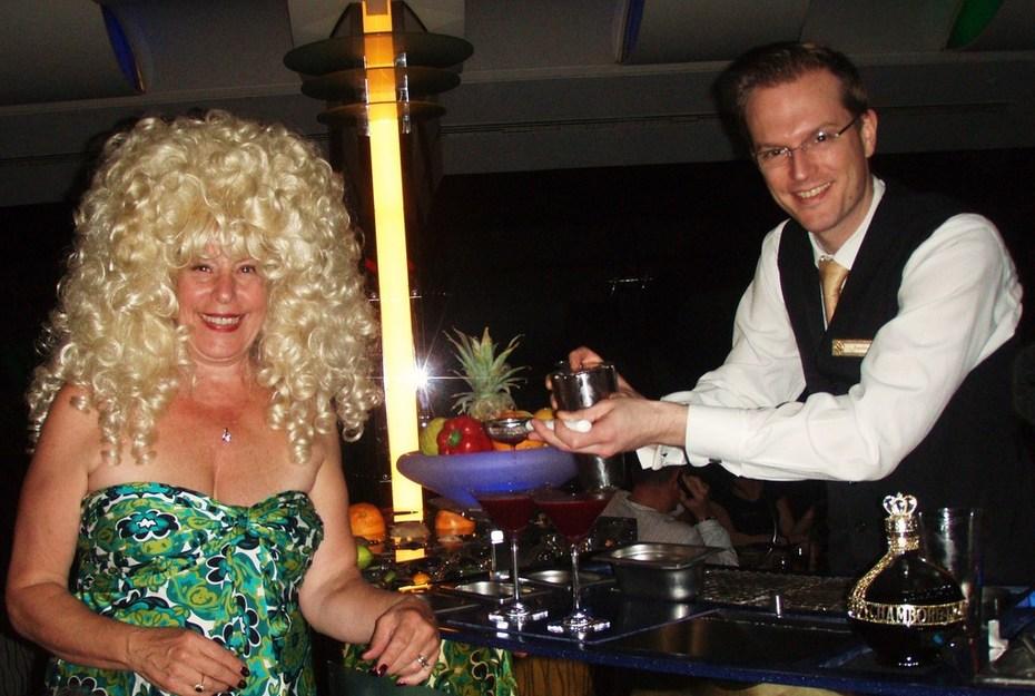 Ann travels the world-drinks atop Burj al Arab in Dubai