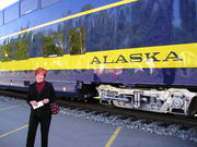 Ann travels the world-from Anchorage to Fairbanks, Alaska