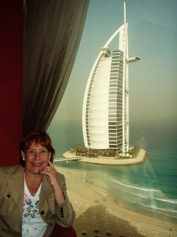 Ann travels the world-Burj al Arfab in Dubai, UAE