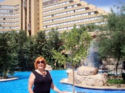 Ann travels the world-Princess Hotel in Sun City