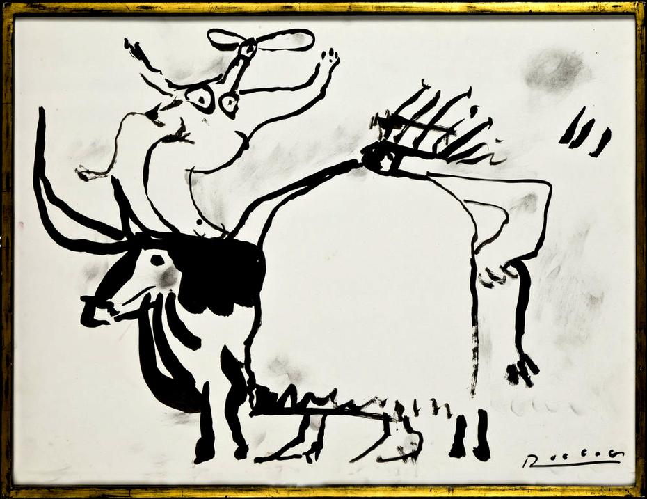 König Tänzerin und Stier