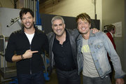 Harry Connick, Jr., Taylor Hicks, and Keith Urban