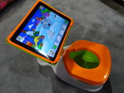 "I-Pad Potty For Junior - ""Get Them When They're Young & You'll Have Them Forever"""