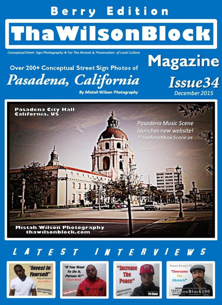 ThaWilsonBlock Magazine Issue34 Berry Edition