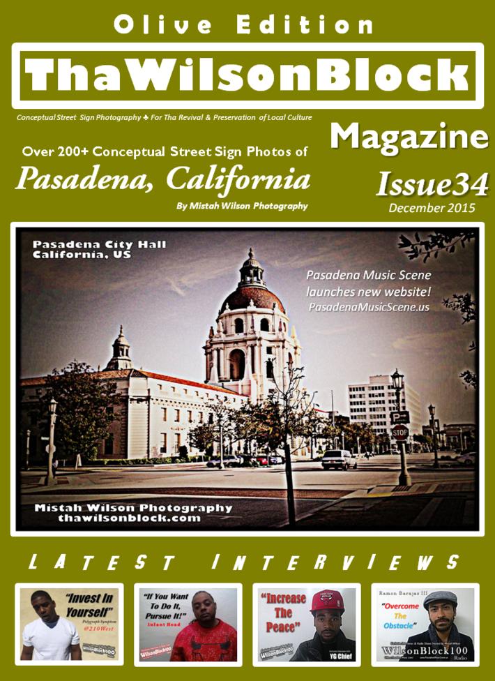 ThaWilsonBlock Magazine Issue34 Olive Edition