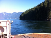 Leaving Bowen Island, BC