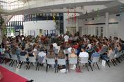 Drum Circle with 170 people at summer academy for integrative medicine 2012