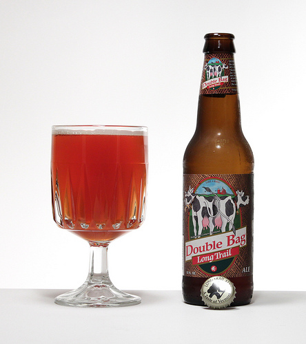 Double Bag is a Altbier style beer brewed by Long Trail Brewing Co.