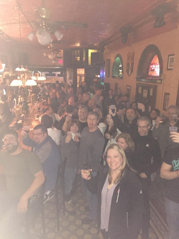 Erie Beer Society February 2016 at Sullivan's