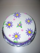 my second fondant cake pic. 2