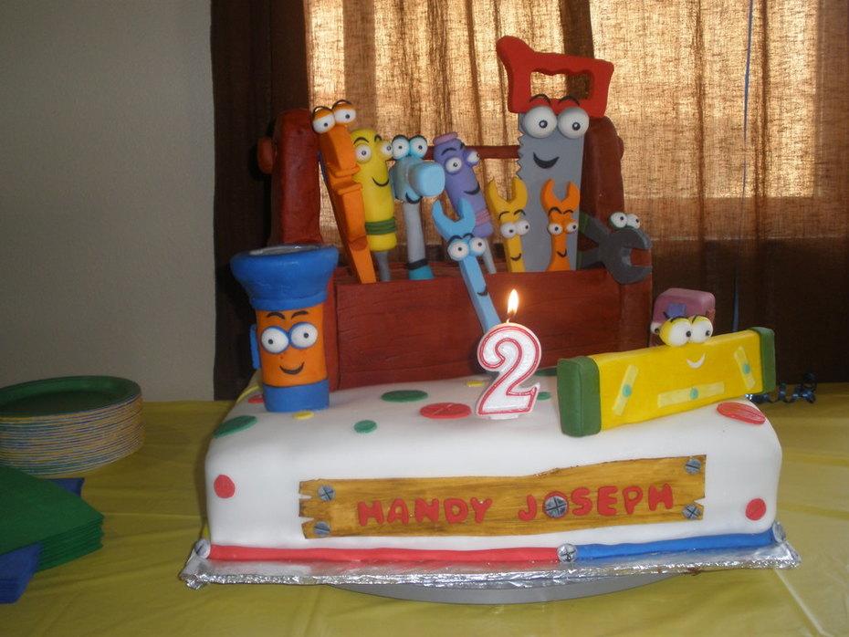 Terrific Handy Manny Cake Decorating Community Cakes We Bake Birthday Cards Printable Inklcafe Filternl