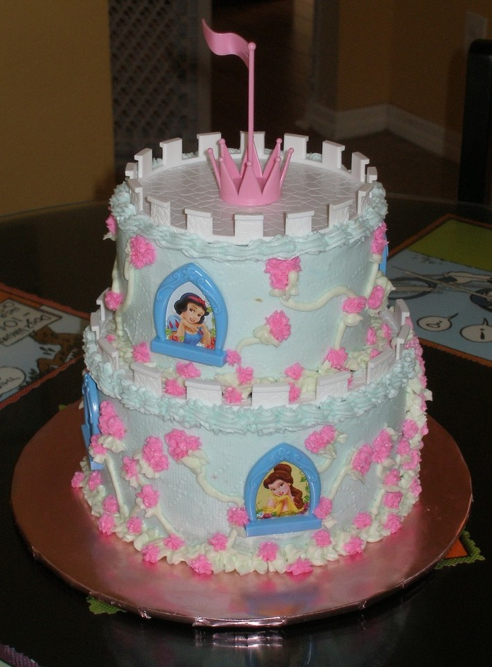 Groovy Disney Princess Birthday Cake Cake Decorating Community Cakes Personalised Birthday Cards Petedlily Jamesorg
