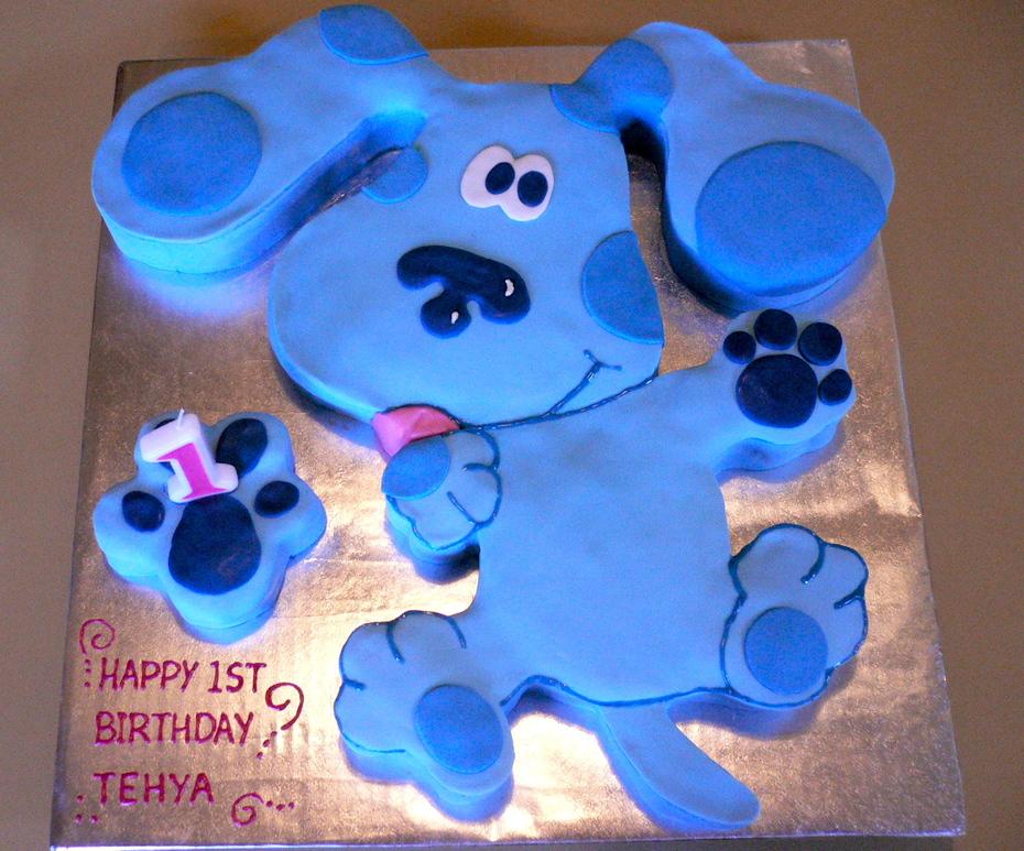 Phenomenal Blues Clues 1St Birthday Cake Cake Decorating Community Cakes Personalised Birthday Cards Fashionlily Jamesorg