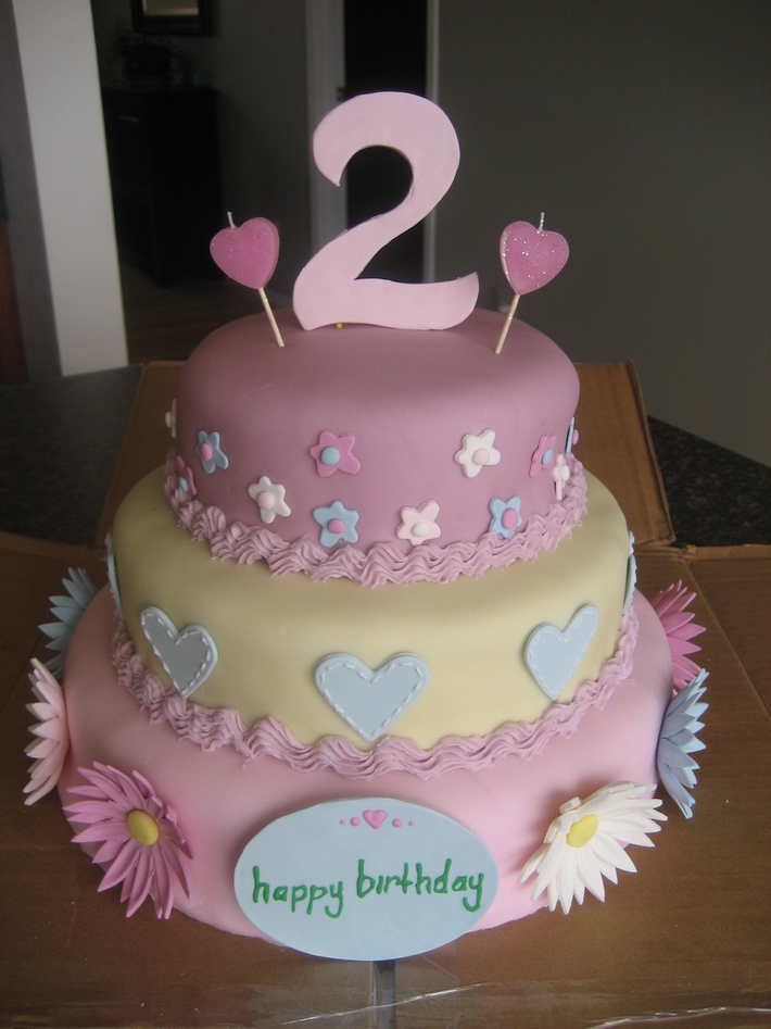Mikiah's 2nd birthday