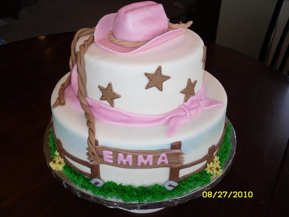 Cowgirl birthday