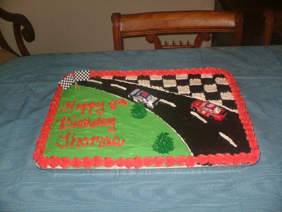 Incredible Nascar Birthday Cake Cake Decorating Community Cakes We Bake Personalised Birthday Cards Cominlily Jamesorg