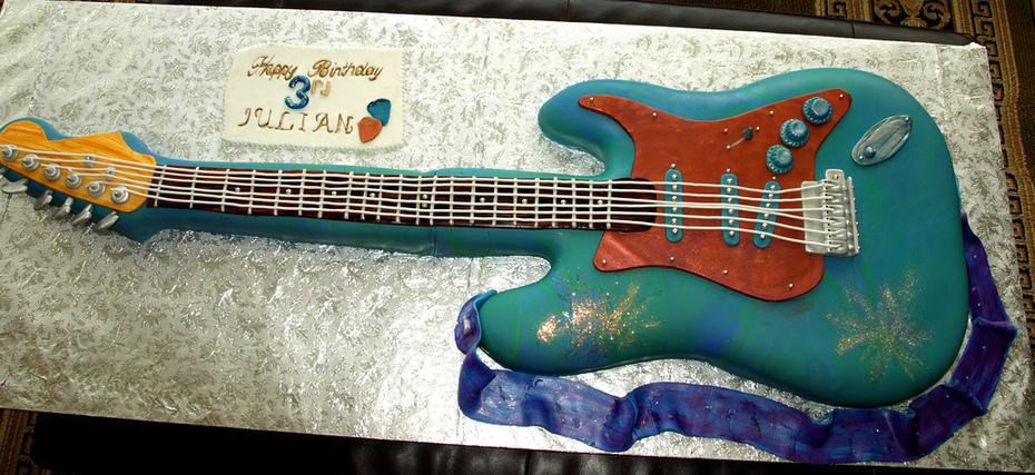 guitar cake4