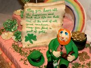 St Patrick's cake