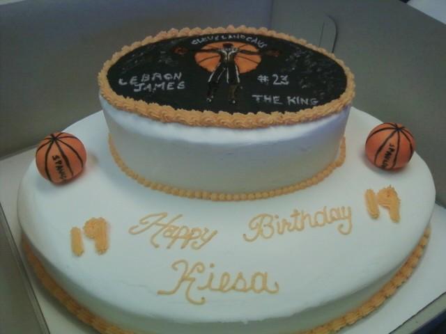 Lebron James Cake 3