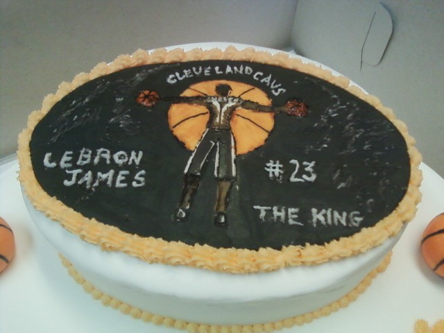 Lebron James Cake 2