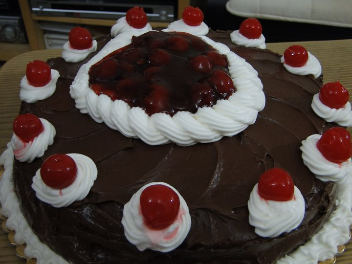 Black Forest Cake -my own version
