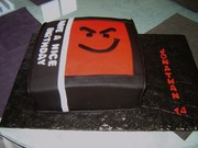 Bon Jovi cd birthday cake