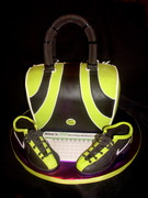 Bowling Ball Bag & Shoes