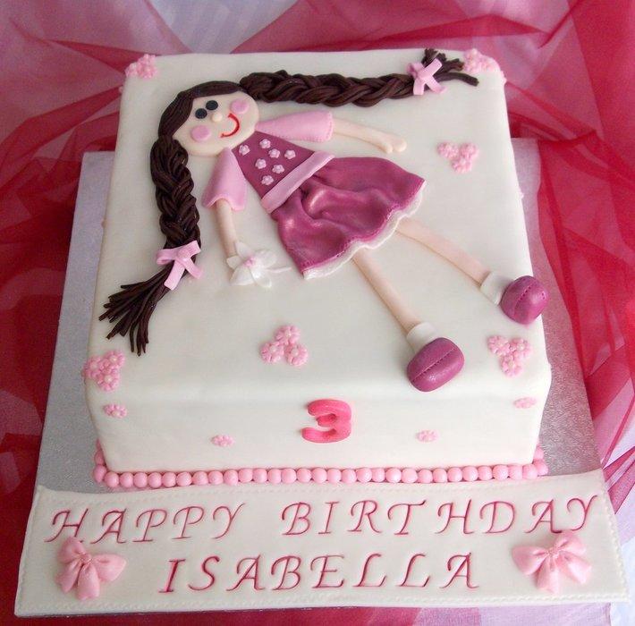 Ragdoll Cake