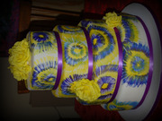 Tie Dye Wedding