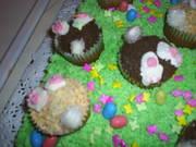 easter bunny hole cake  2011