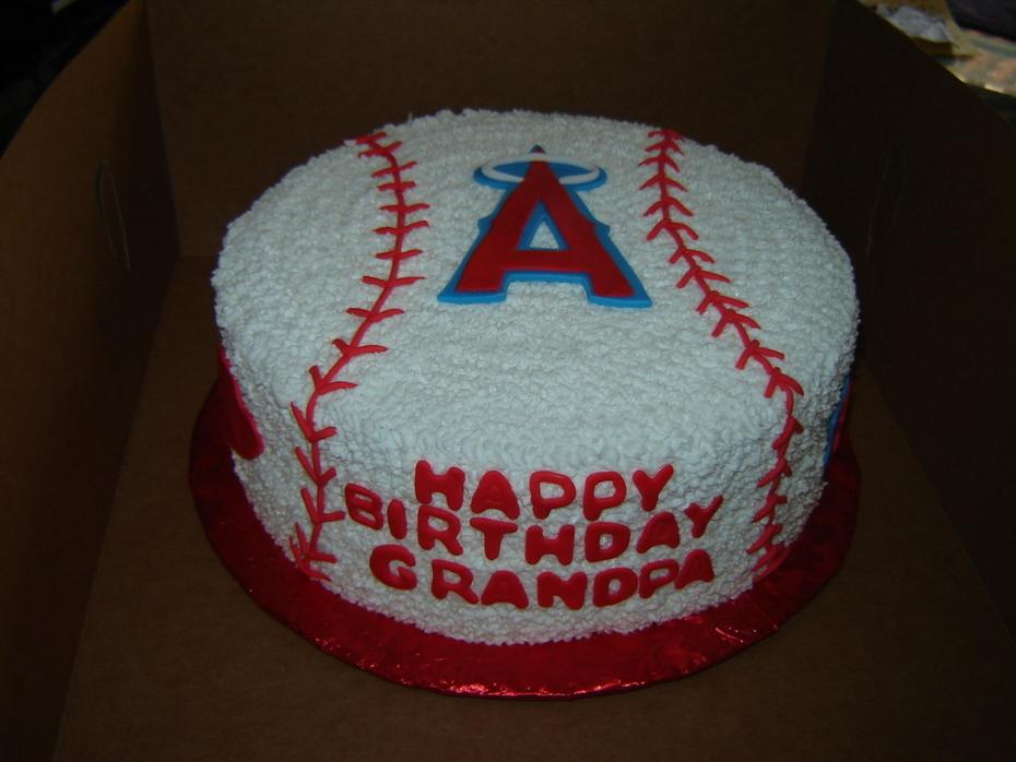 Angels birthday cake