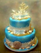 Beach Theme Cake 831
