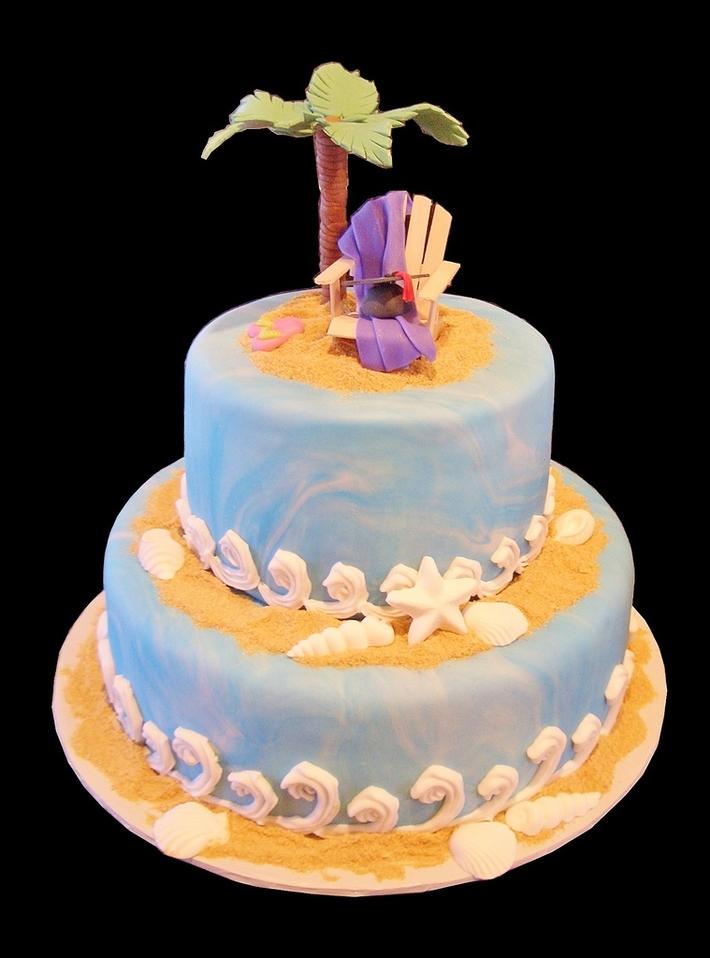 Beach Theme Cake Contest