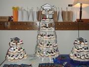 Graduation Cupcake Display